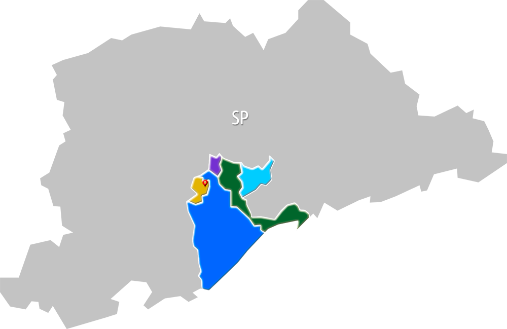 Foto - Mapa de Atuação